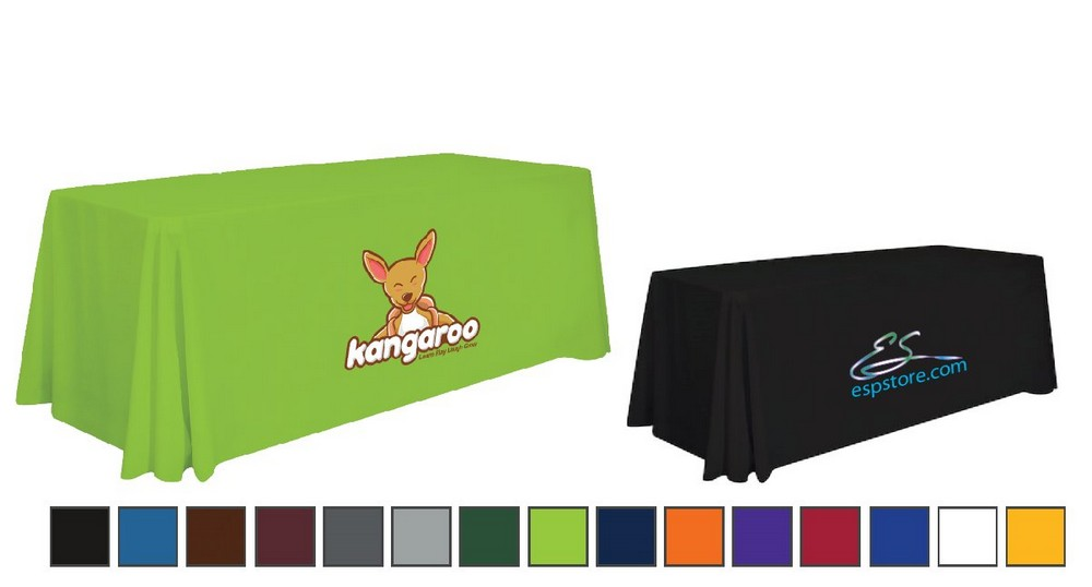 FULL COLOR PRINTED FITTED TABLE COVER